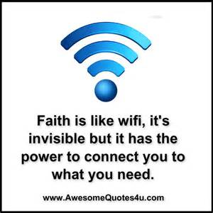 Bible quote Faith Wifi